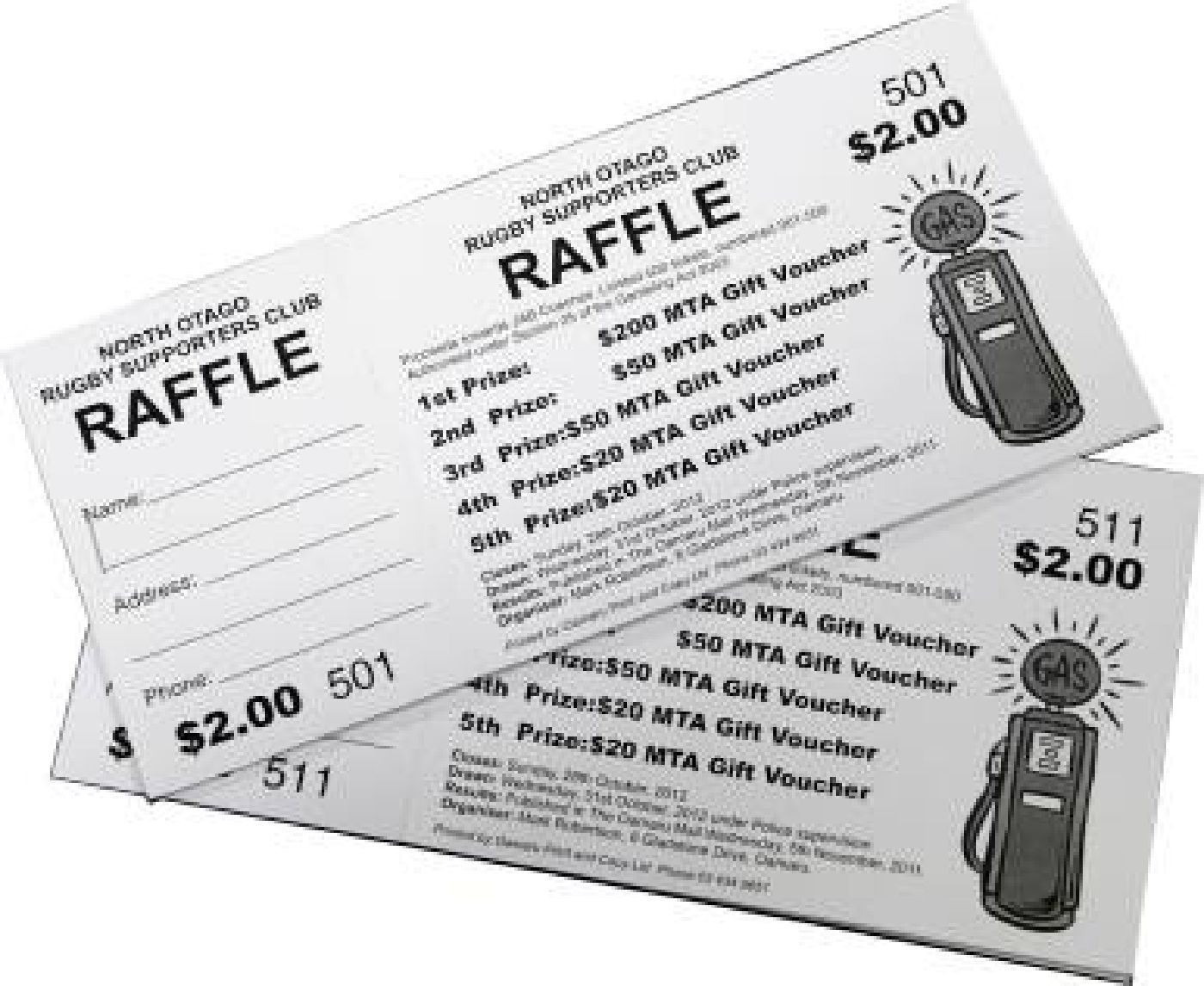 how to make a raffle ticket