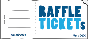 print of raffle tickets raffle tickets made easy free delivery