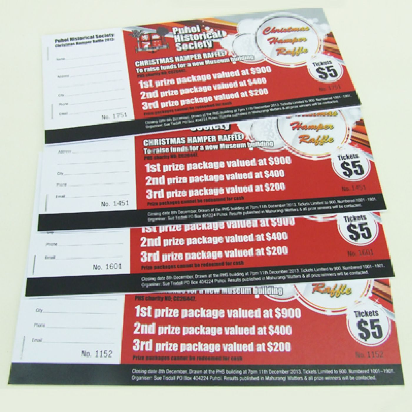 print of raffle tickets raffle tickets made easy delivery printing raffle ticket nz